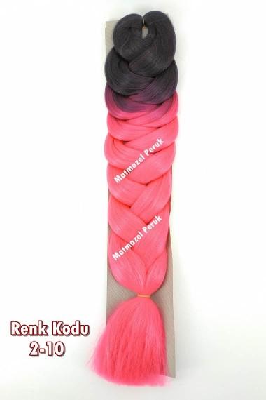 Sentetik Afrika Örgüsü Saçı Ombreli Renk Kodu -2-10