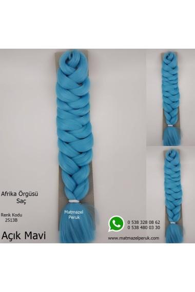 Sentetik Afrika Örgüsü Saç Renk Kodu-2513B