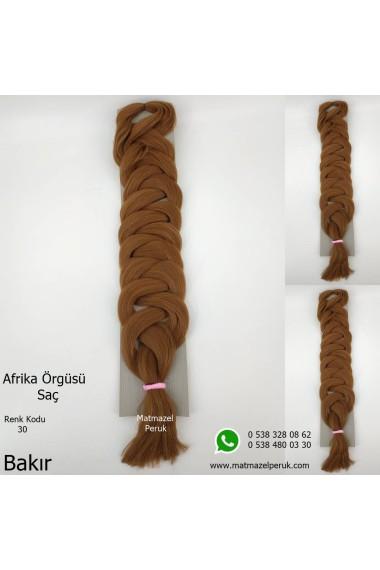Sentetik Afrika Örgüsü Saç Renk Kodu-30