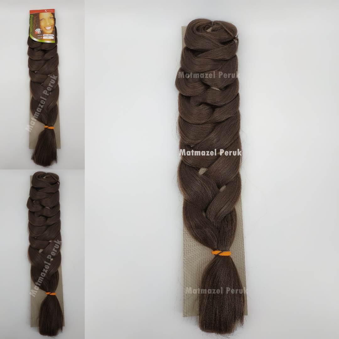 Afrika örgüsü için sentetik saç