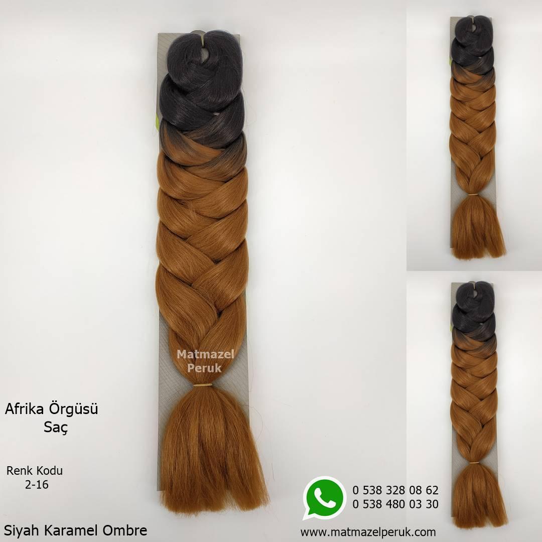 Afrika örgüsü için sentetik saç ombreli