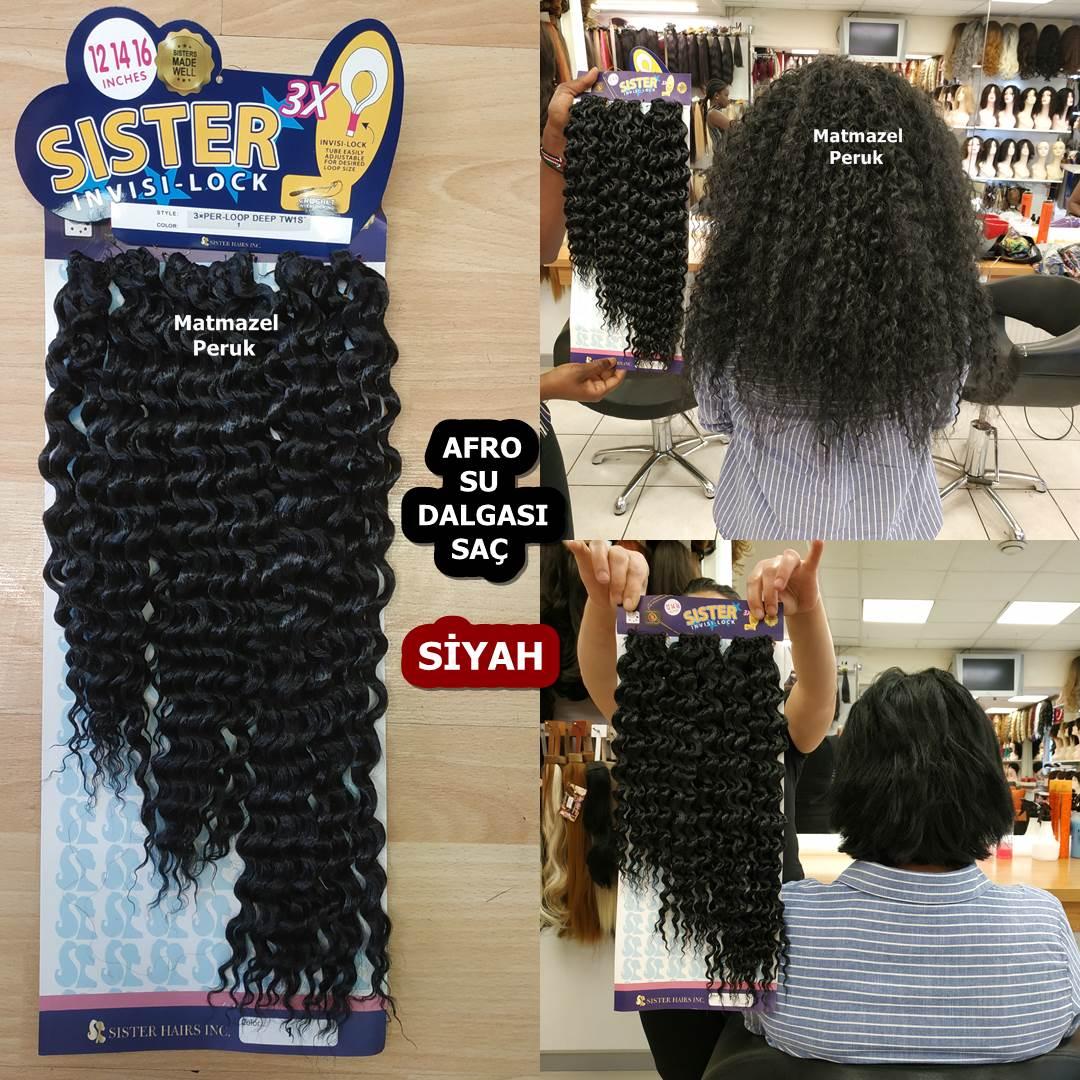 Afro Dalgası saç