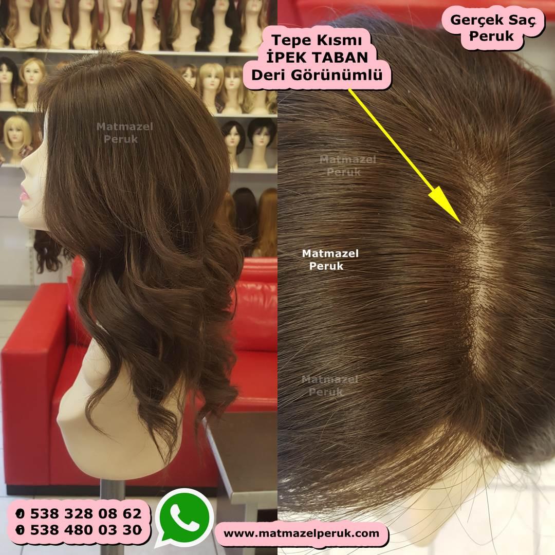 gerçek peruk doğal peruk