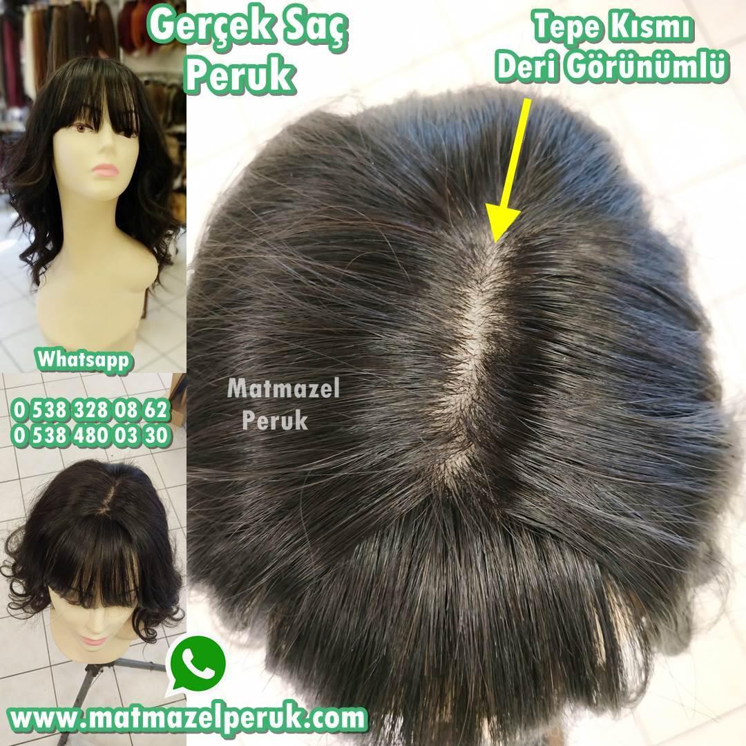 gerçek saç peruk