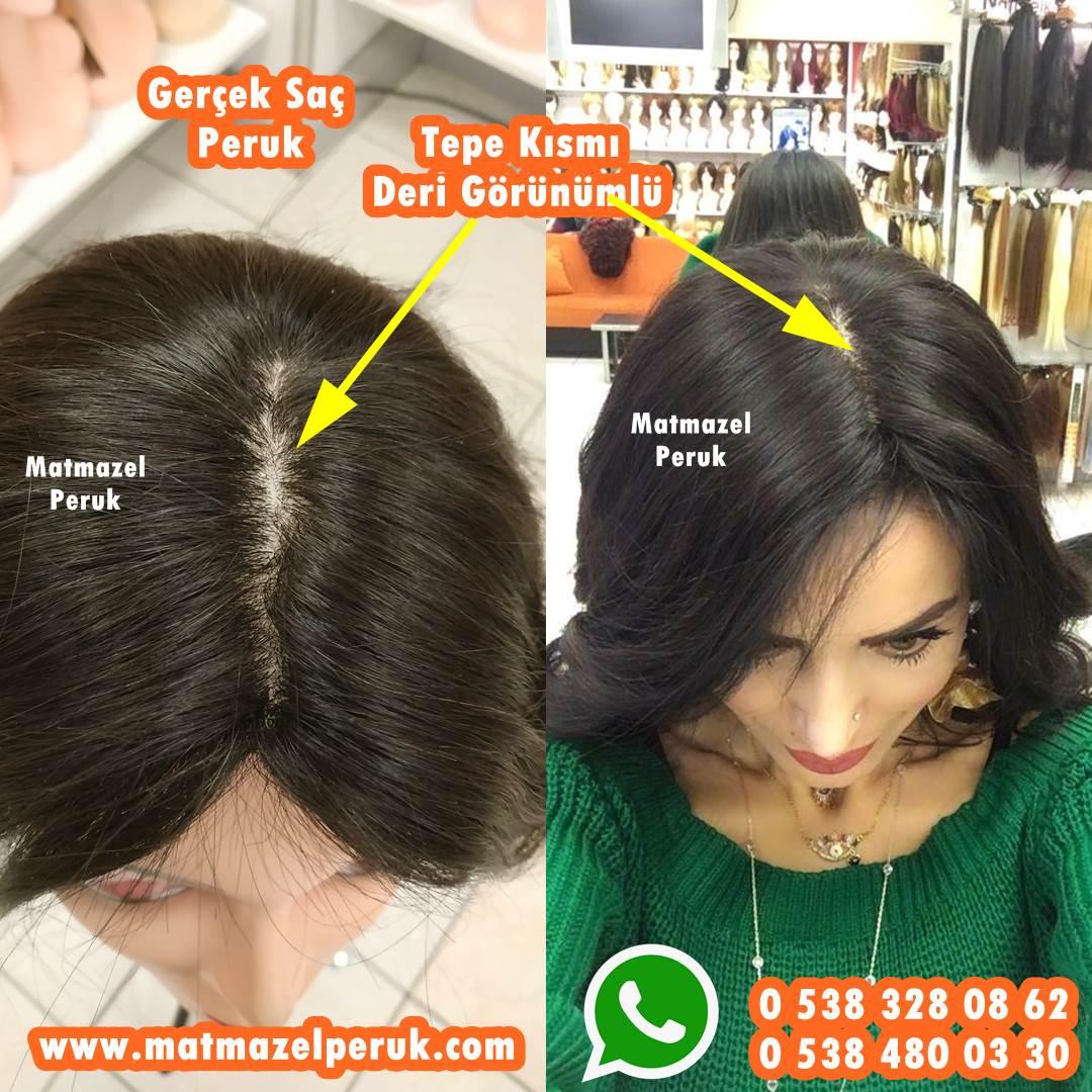 gerçek saç peruk bayan peruk doğal peruk