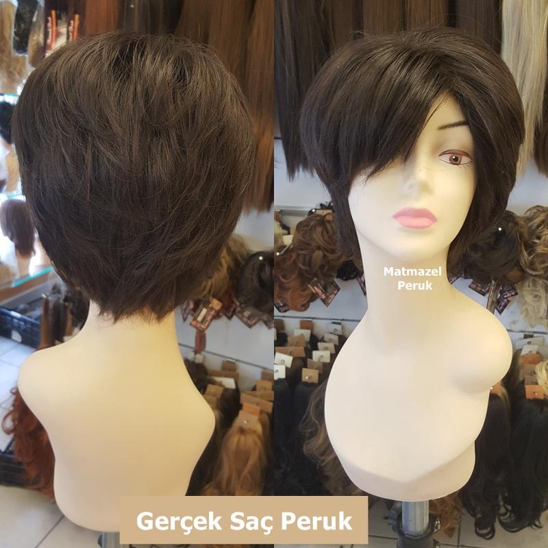gerçek saç peruk doğal peruk medikal peruk