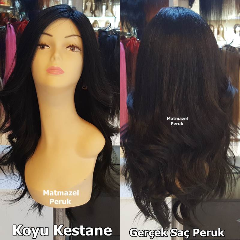 gerçek saç peruk özel sipariş peruk
