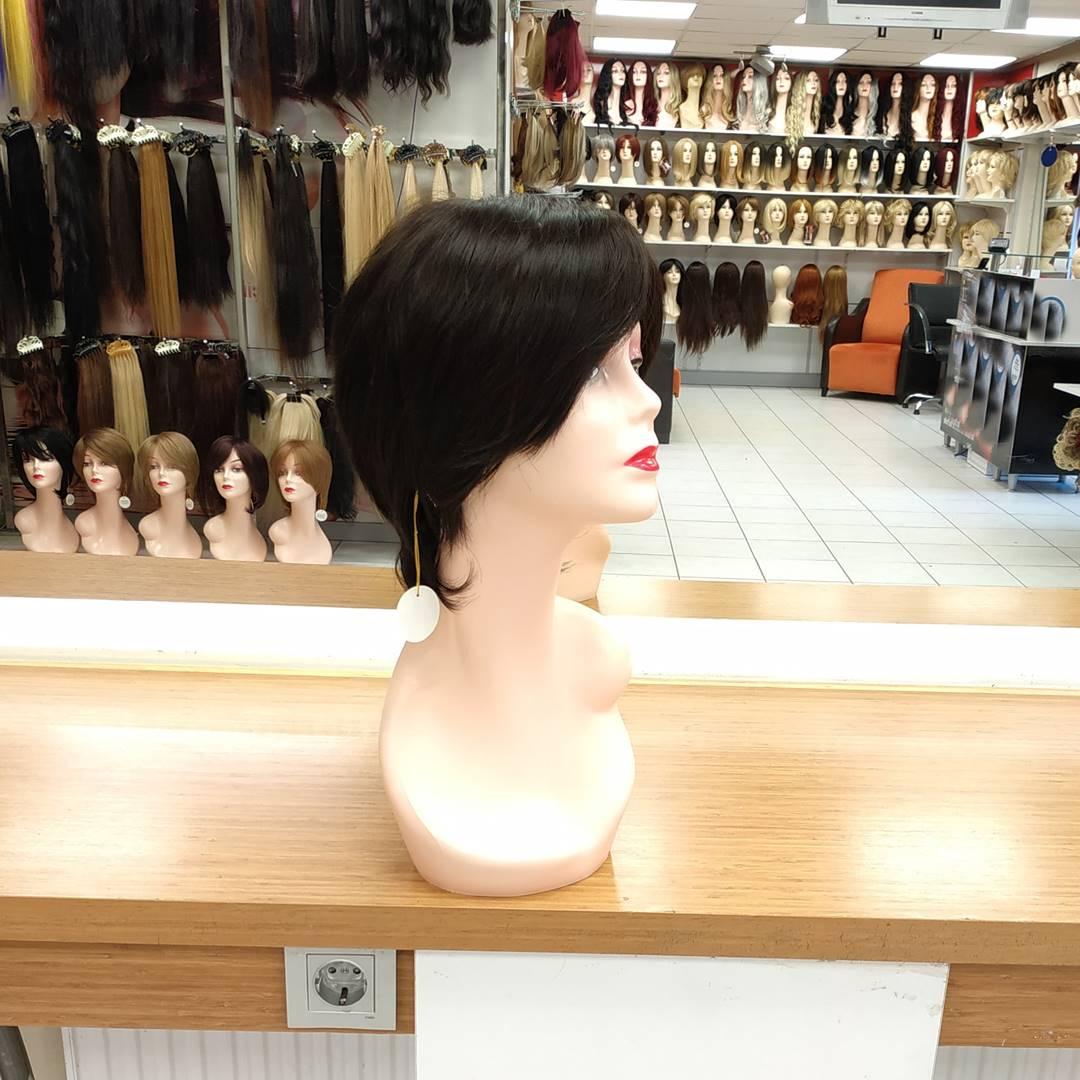 kısa fiber sentetik peruk