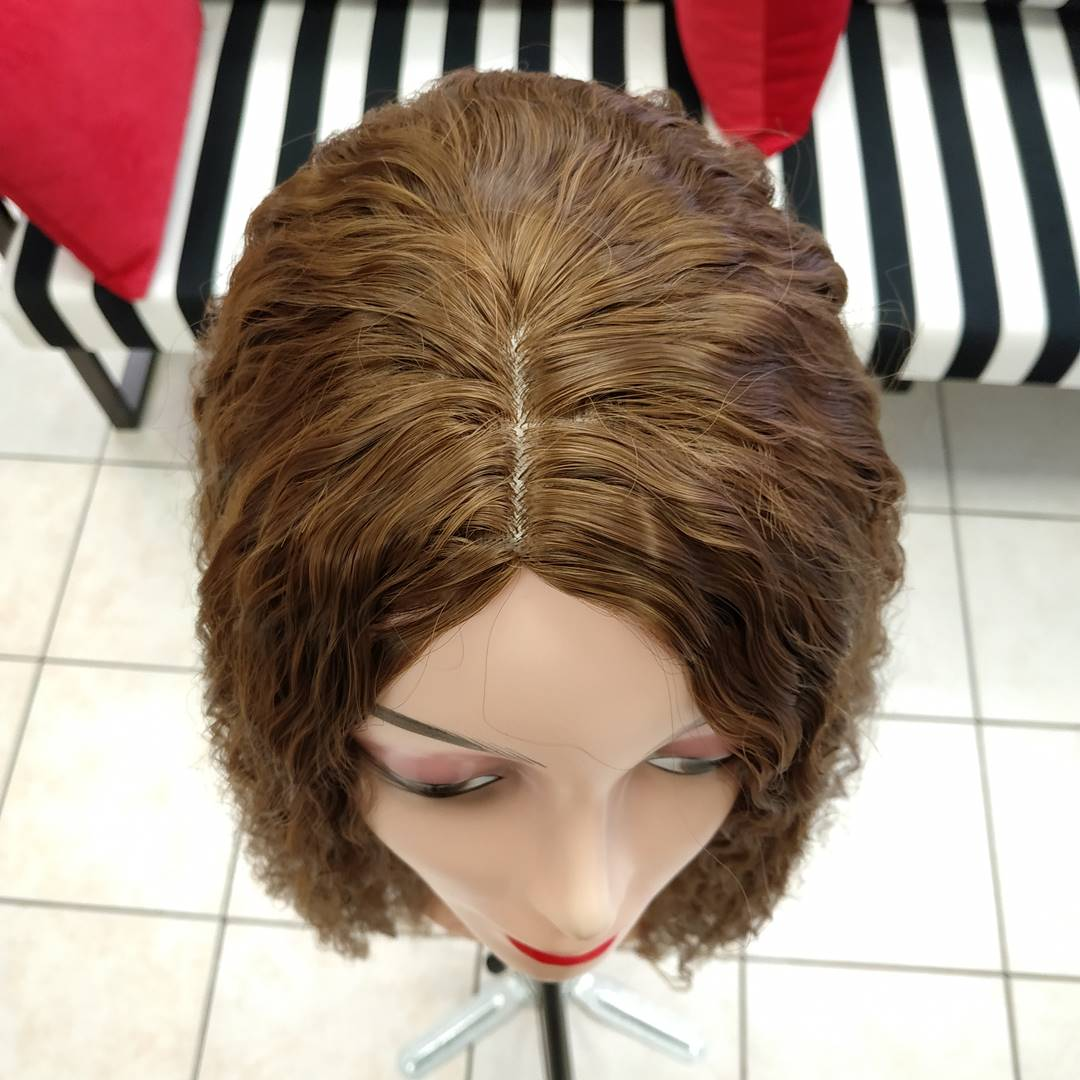 fiber sentetik peruk